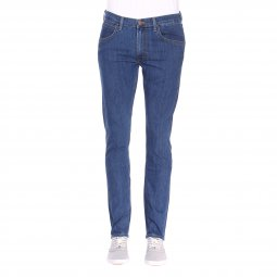 Jean droit Lee Daren Zip Fly Authentic Blue