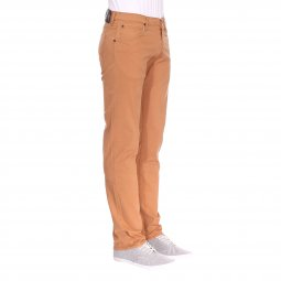 Pantalon droit Lee Daren Zip Fly en coton stretch camel