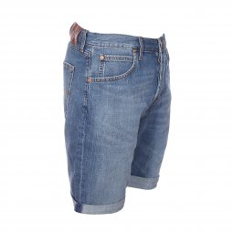 Short en jean Lee Dumbo Worn en coton bleu