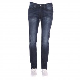 Jean Levis 511 slim fit Nightmare en coton stretch bleu brut