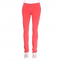 Jean Levis 511 slim fit Sunset Red Bi-Stretch en coton stretch rouge
