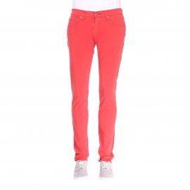 Jean Levi's 511 slim fit Sunset Red Bi-Stretch en coton stretch rouge