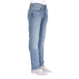 Jean Levi's 512 Slim Taper Fit Rivercreek en coton stretch bleu clair