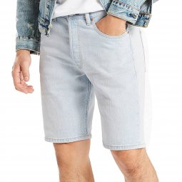 Short Levi's 501 Hemmed Looking Pasty en jean bleu clair