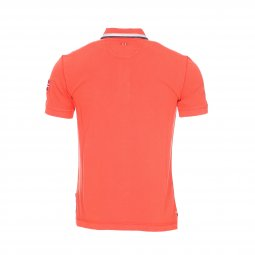 Polo Napapijri Gandy en coton piqué orange