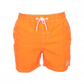 Short de bain Petrol Industries orange fluo