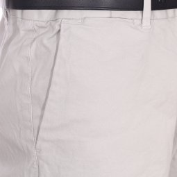 Pantalon Chino Scotch & Soda Classic Garment en coton stretch gris clair