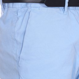 Pantalon Chino Scotch & Soda Classic Garment en coton stretch bleu ciel
