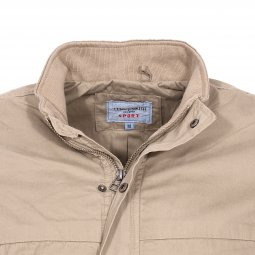Blouson Teddy Smith Braxo beige