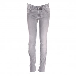 Jean slim Teddy Smith Junior Reming JR Super Leg gris clair
