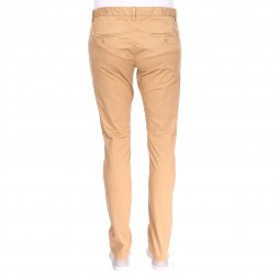 Pantalon Chino Teddy Smith slim en coton stretch miel