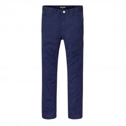 Pantalon chino Tommy Hilfiger Junior Ame Slim en coton stretch bleu marine