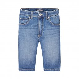 Short en jean straight Tommy Hilfiger Junior Randy Relaxed bleu