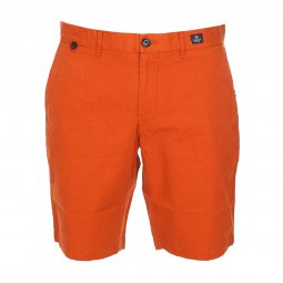 Short Tommy Hilfiger Brooklyn en coton orange foncé