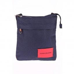 Sacoche plate Calvin Klein Sport Essential Micr en toile bleu marine ... 26a8e1bc5a9