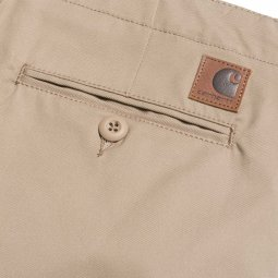 Pantalon Carhartt WIP Club Leather Rigid