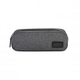 Trousse Chabrand Select en toile gris anthracite chiné