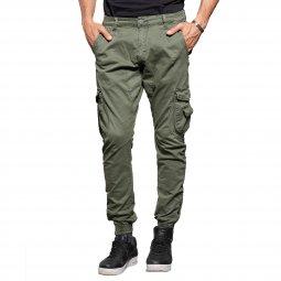 8023b303185a Pantalon Couleur Kaki   toute la collection de Pantalons Couleur ...