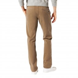 Pantalon Dockers Smart 360 Flex Alpha stretch Slim tapered Leather camel