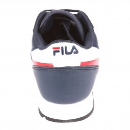 Baskets Fila Orbit Jogger Low bleu marine, rouges et blanches