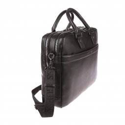 Porte-document/ordinateur Guess City noir