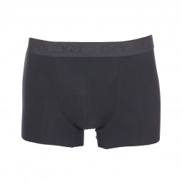 Boxer HOM Natural Clean Cut en modal stretch noir