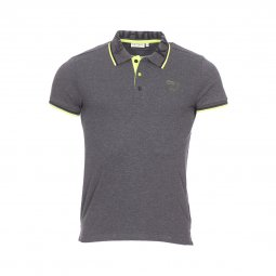 Polo Kaporal Lynx gris anthracite chiné