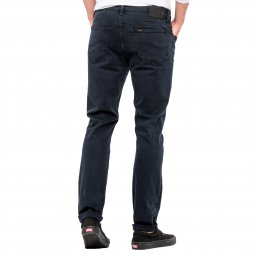 Jean Lee Rider Slim Black Night en coton stretch bleu nuit