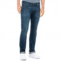 Jean Lee Daren Zip Fly Regular Slim Dark Used