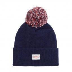 7491f9a71ba9 ... Coffret cadeau Levi s Ski   écharpe bleu marine et bonnet bleu marine à  pompon