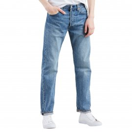 Jean Levi's 501 Original fit Baywater en coton stretch bleu clair