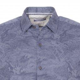 819a78c06118 chemise cintree pierre cardin en coton denim fantaisie a tissage chevrons-2-0 255x255.jpg