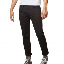 Pantalon Pierre Cardin Lyon tapered en coton stretch noir