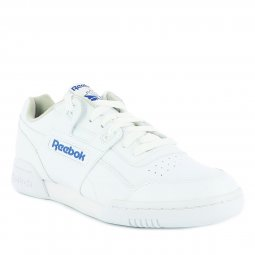 Baskets Reebok Workout Plus blanches