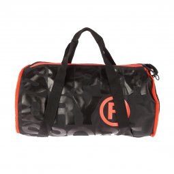 Sac de sport Superdry XL Sports Barrel noir floqué