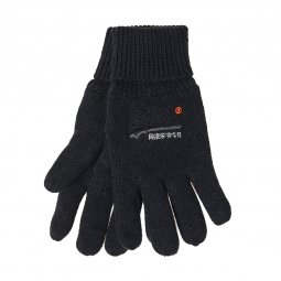 Gants Superdry Orange Label en coton noir