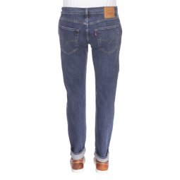 Jeans Levi's 502 Regular Taper Crocodile Adapt en coton stretch bleu