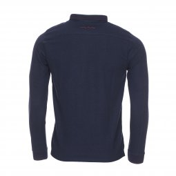 Polo manches longues Teddy Smith Philiper bleu marine
