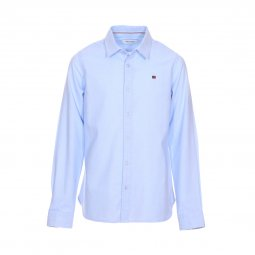 Chemise Teddy Smith Junior Cart en coton bleu ciel
