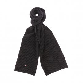 951179e07bd Echarpe Tommy Hilfiger double-face en laine et cachemire mélangés ...