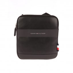 Sacoche plate Tommy Hilfiger City Mini Crossover noire