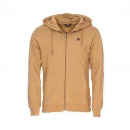 Sweat à capuche zippé Volcom Single Stone ocre