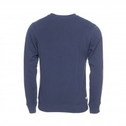 Sweat col rond Diesel Willy en coton mélangé bleu pétrole