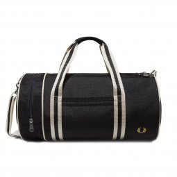Sac de voyage Fred Perry Twin Tipped en toile noire