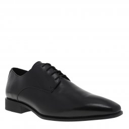 Derby Geox High Life en cuir noir