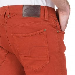 Jean Lee Cooper Jeep en coton stetch rouge brique