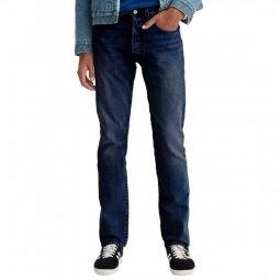 6eb6c30b68a Jean Levi s 501 Slim Taper Dark Hours en coton stretch bleu brut légèrement  délavé ...
