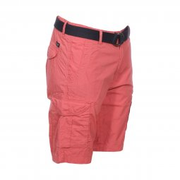Short Petrol Industries Cargo en coton rose foncé