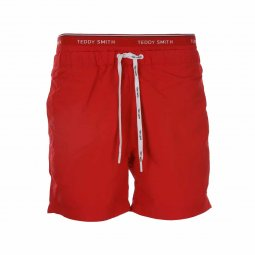 2078fe940a Short de bain Teddy Smith Saker rouge ...