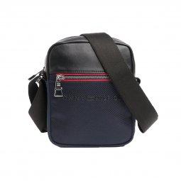 2f1368278b6b Sacoche Tommy Hilfiger Urban Novelty bleu marine et noir ...